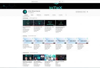 медиа-каналы Youtube IoTeX
