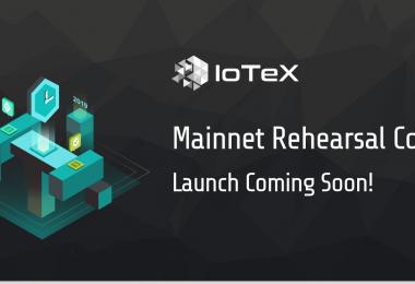 IoTeX Mainnet скоро