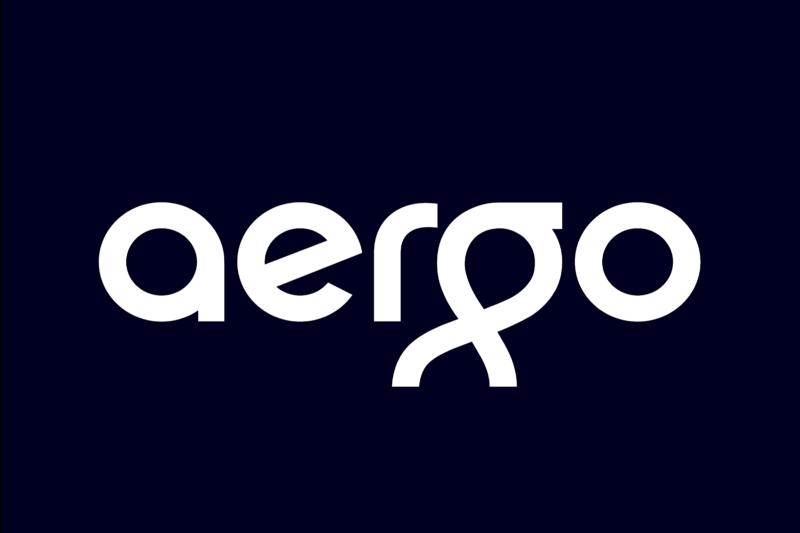 Ранний логотип Аэрго, 2018 Основная сеть