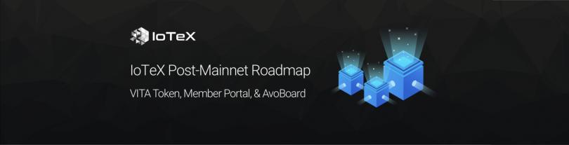 IoTeX Post-Mainnet
