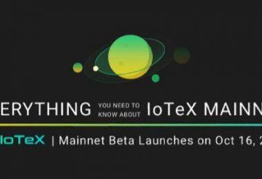 Mainnet Beta IoTeX запущен. Краткий релиз