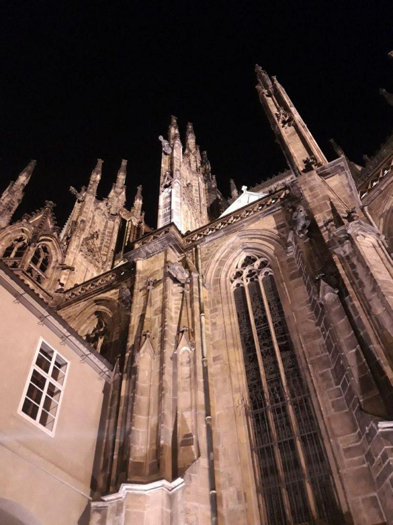 чехия прага замок костел святого Вита