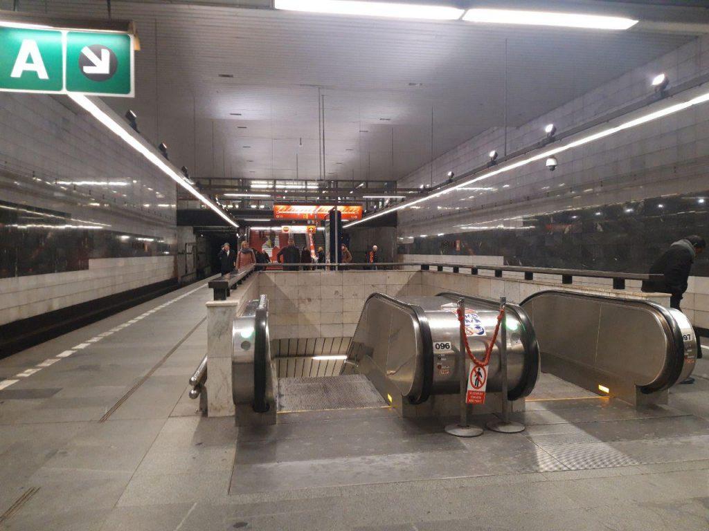 метрополитен в Праге