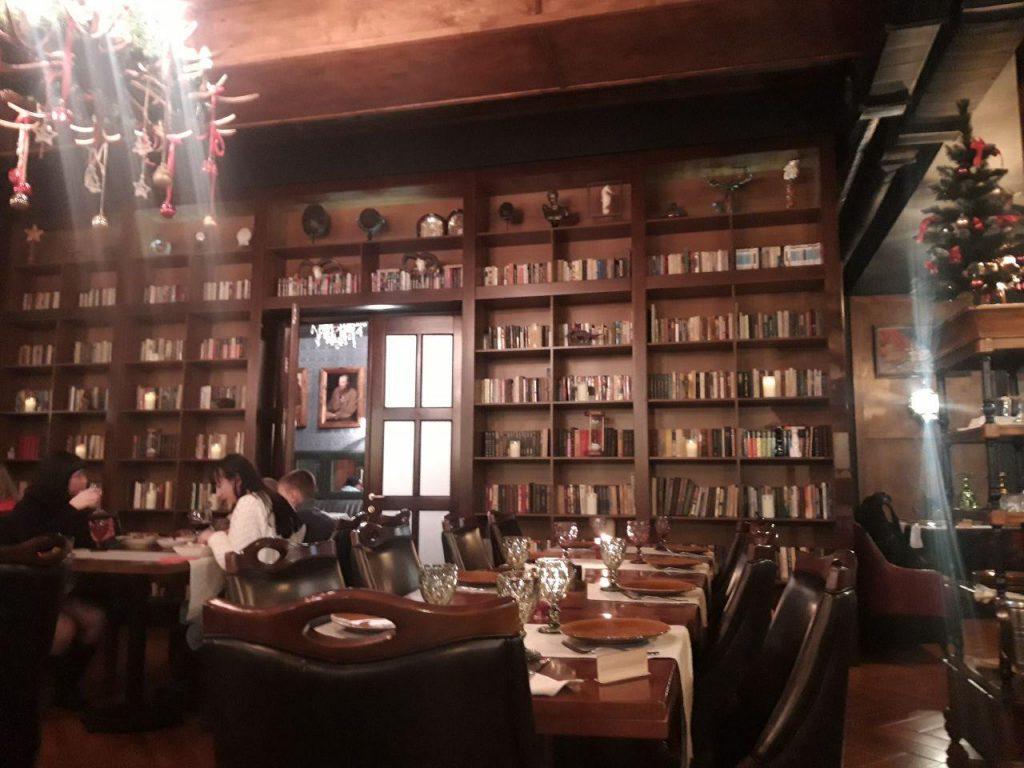 ресторан Библиотека в Чернигове