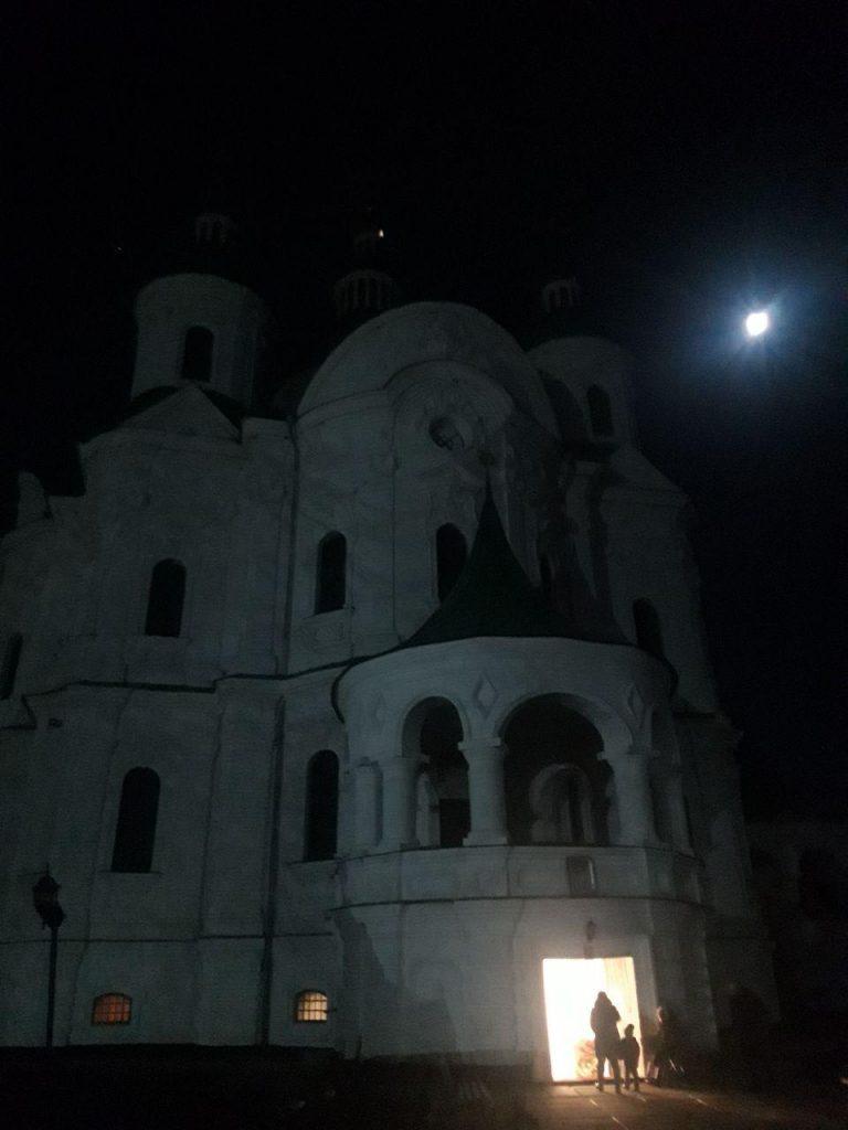 Собор Рождества Богородицы в городе Козелец (Черниговская область) был построен примерно в 1752—1763 годах.