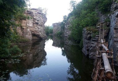 букский каньон украина