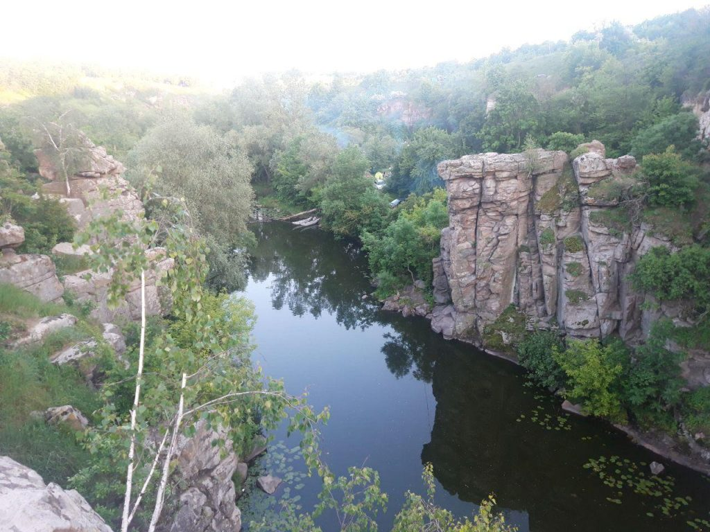 поселение славян букский каньон
