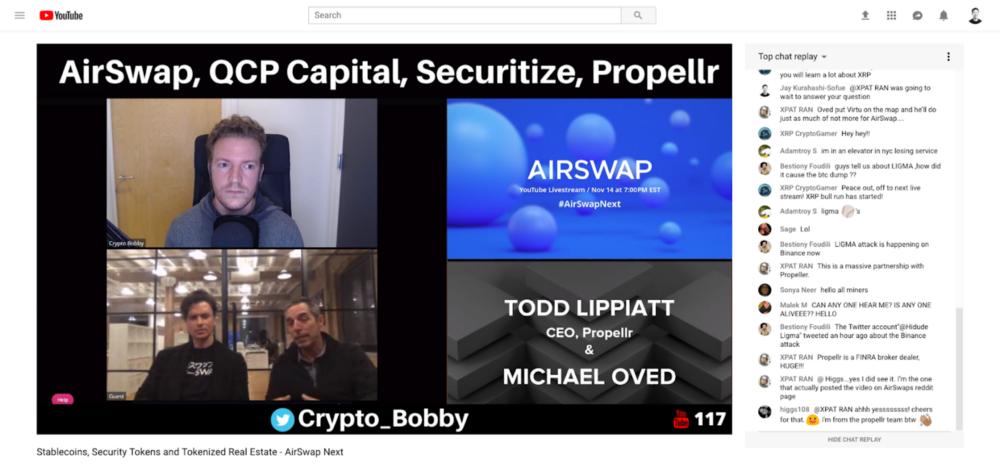 AirSwap Token Launch